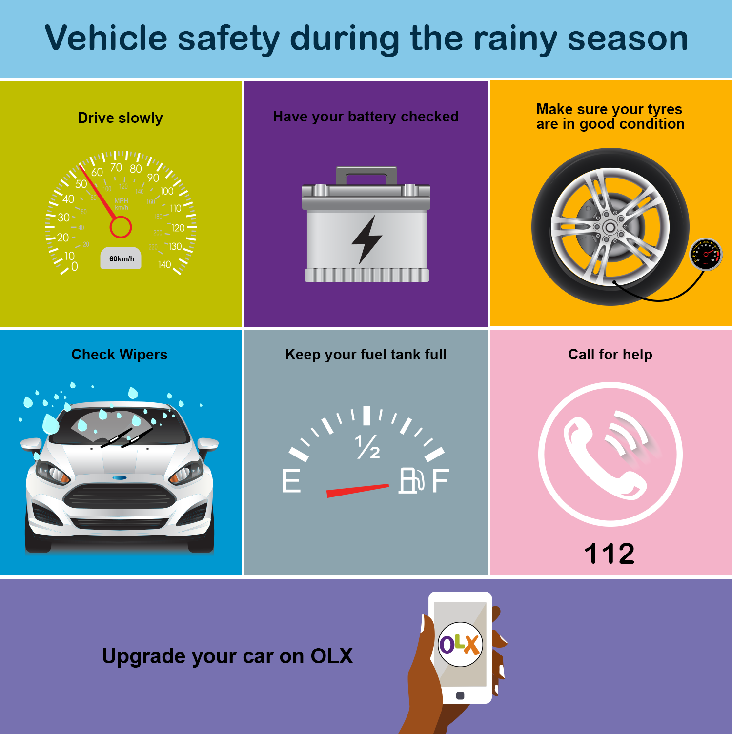 Safety Precautions during the Rainy Season