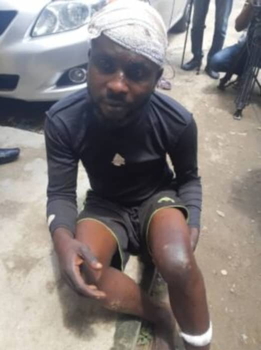 Another Kidnapper Caught In Lagos Today, Nearly Lynched To